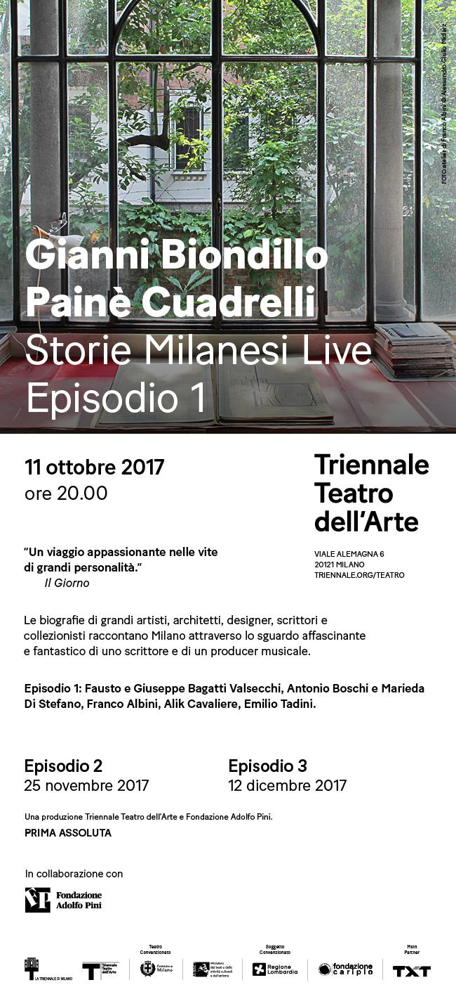 Storie Milanesi Live (Episodio 1)